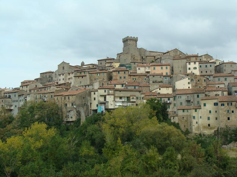 Ancient Tuscan village