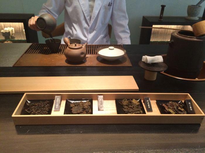Higahiya Ginza tea quality tasting