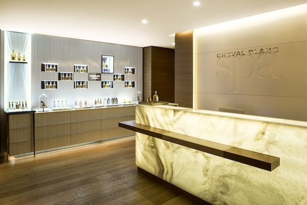 Guerlain spa at Cheval Blanc
