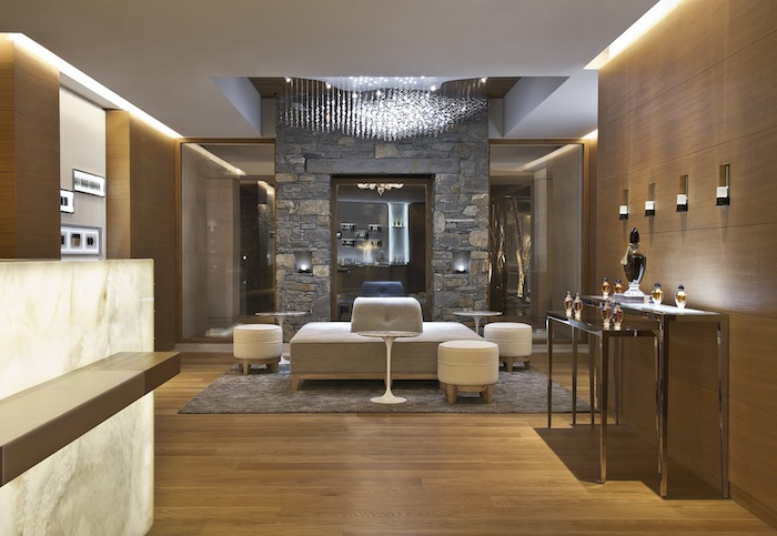 The Spa at Cheval Blanc hotel in Courchevel