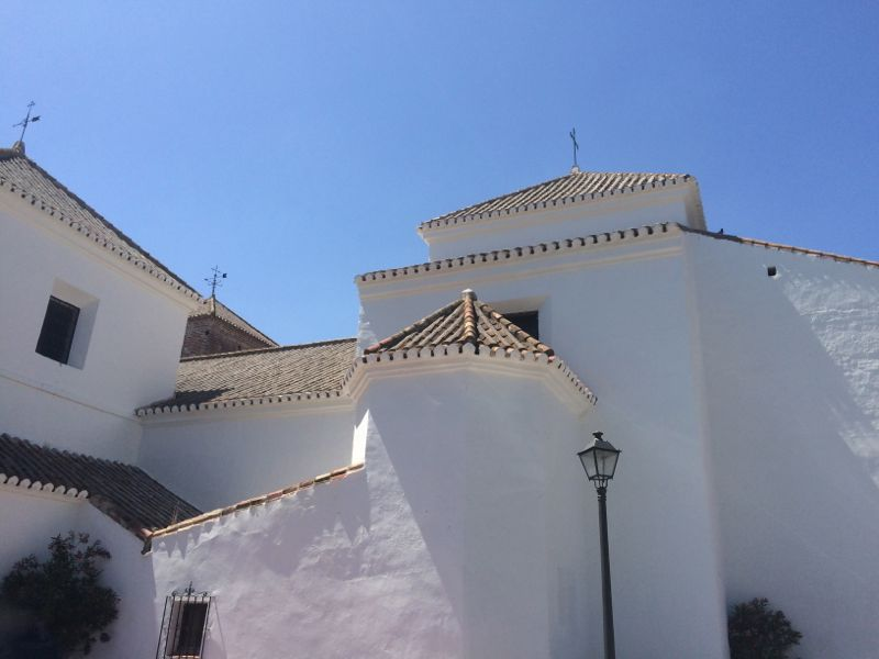 White Mijas village in Andalusia