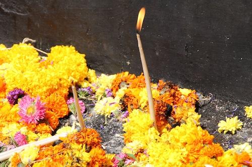 Religious hindu offering