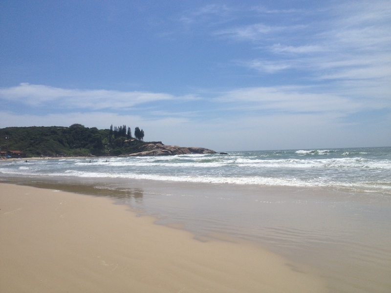 Beach in Florianopolis