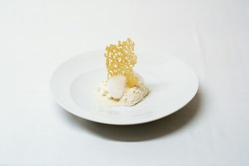 Five ages of Parmigiano Reggiano at Osteria Francescana in Modena