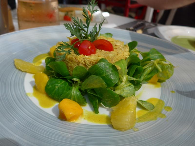 Restaurant Couleurs Jardin on Plage Gigaro