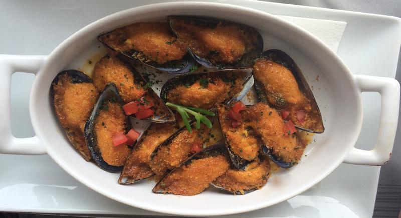 seafood at Couleurs Jardin