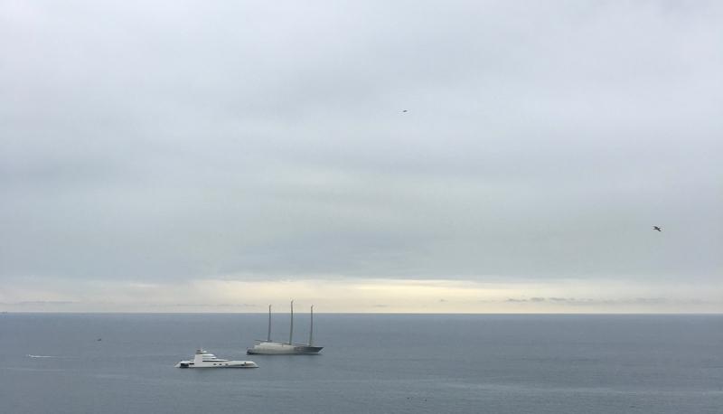 world's biggest yachts in Monaco