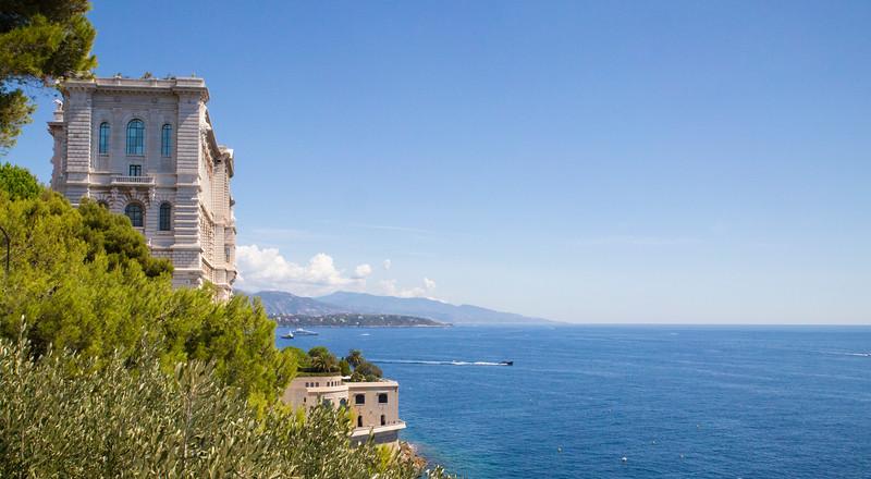 Musee Oceanographique a Monaco