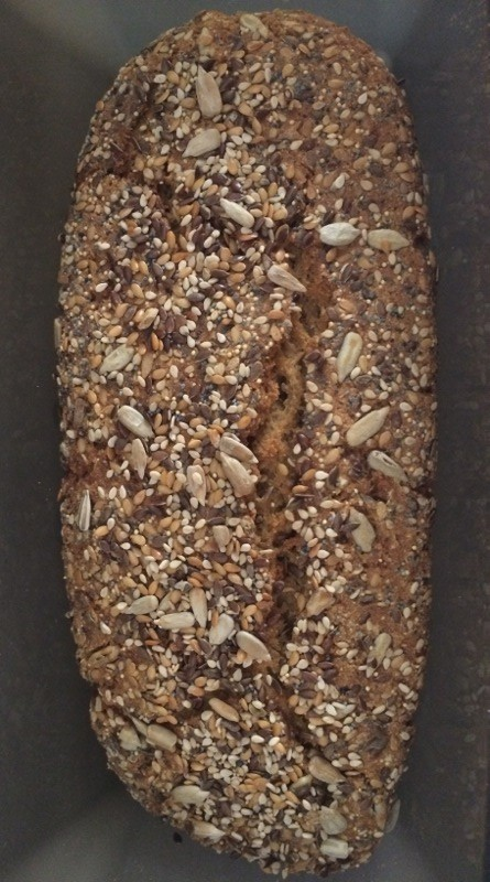 baking wholemeal bread