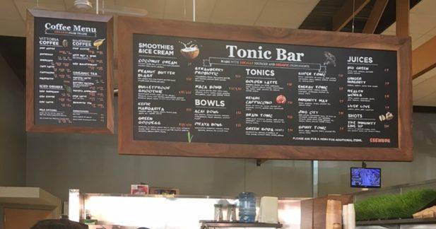 Erewhorn healthy cafe in LA