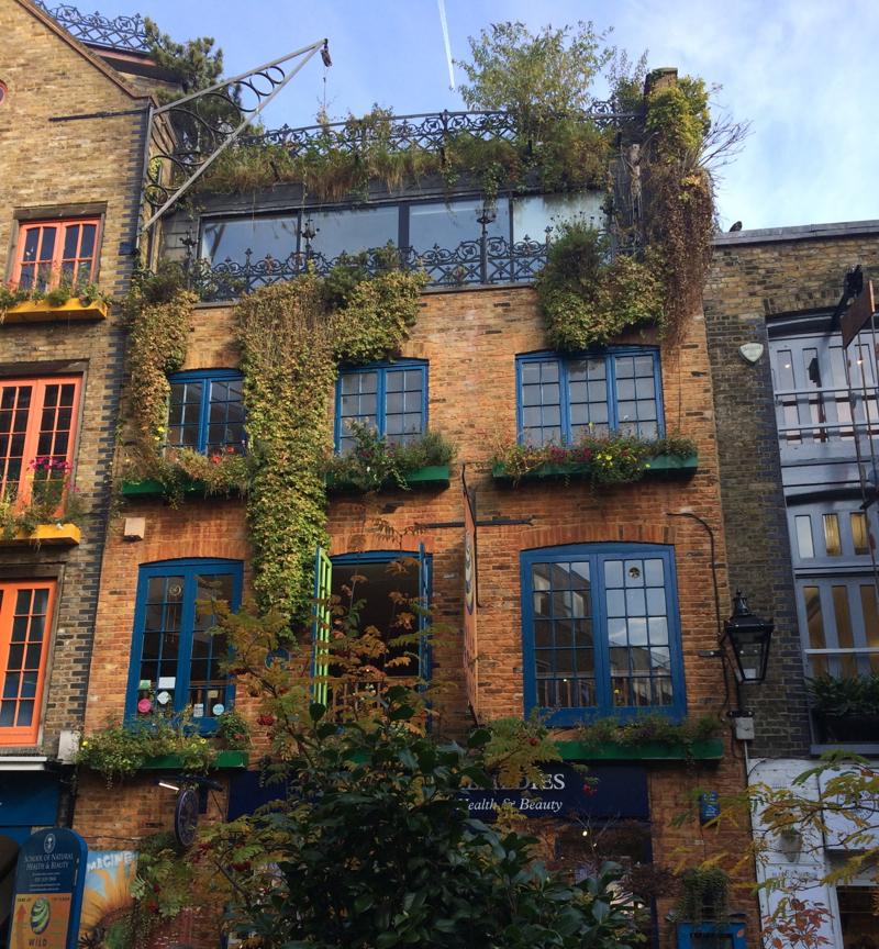 Neals yard in London