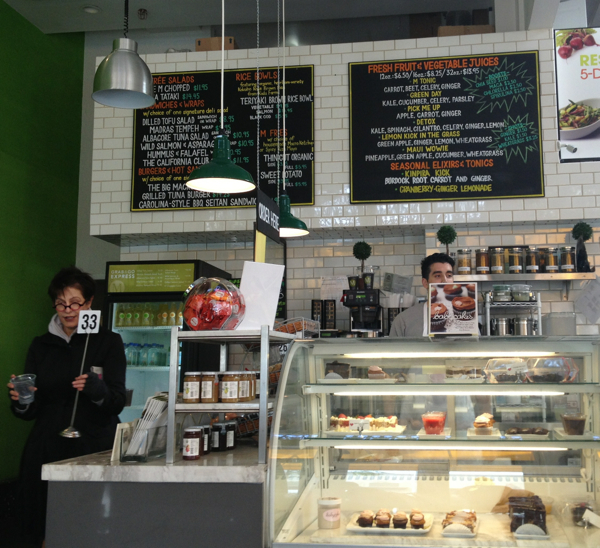 macrobiotic and organic Los Angeles M-cafe and take-out
