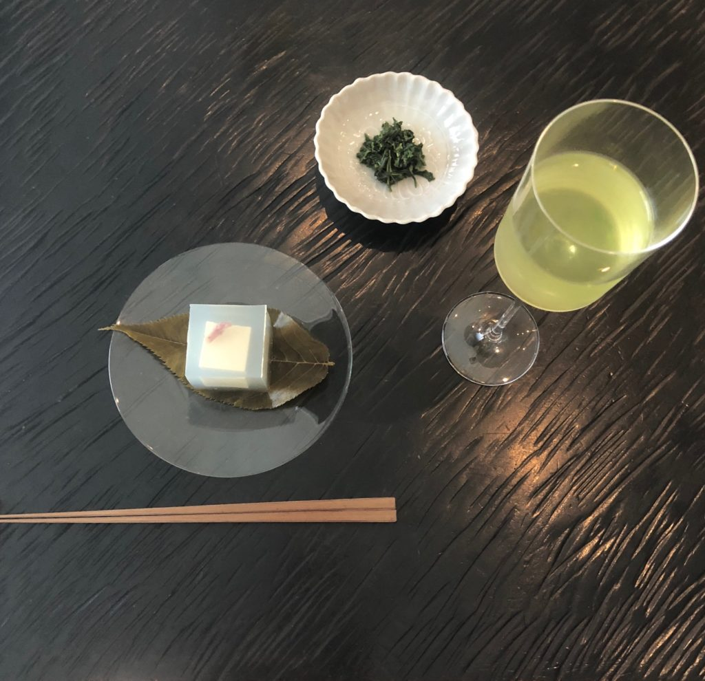 Wagashi and Japanese tea