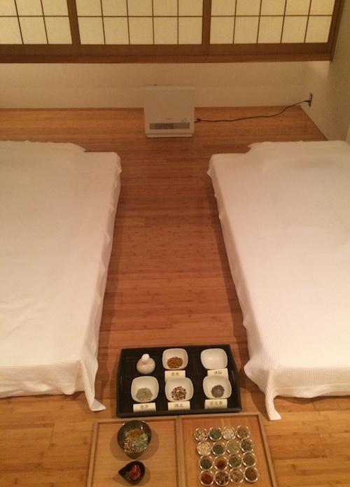 Japanese herbal spa