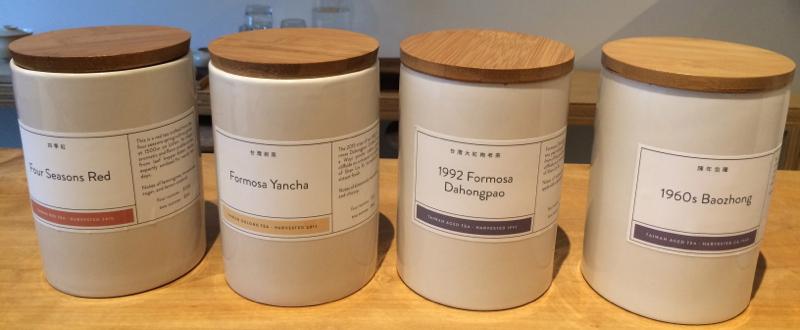 Oolong tea tasting at Song Tea & Ceramics in San Francisco
