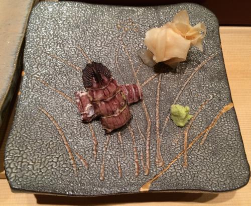 omakase sushi at Sushiya