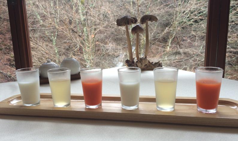 juice degustation