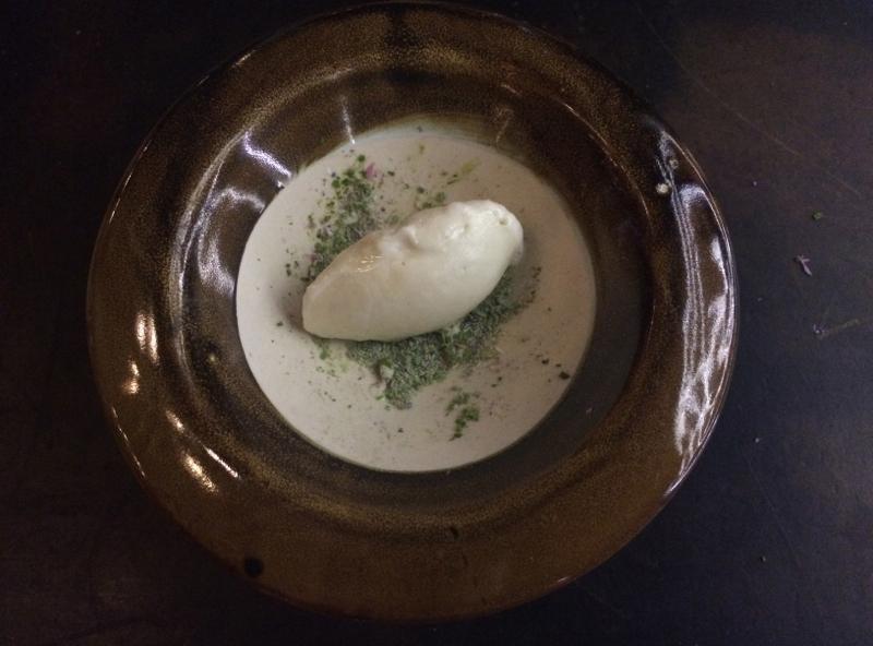 Dessert at Vue de monde restaurant in Melbourne