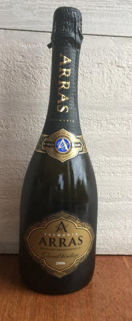 New World sparkling wine
