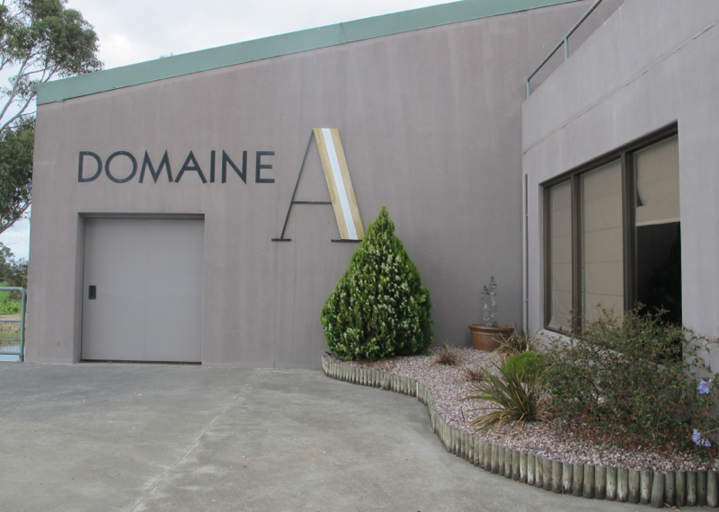 Domaine A one of the best wineries in Tasmania