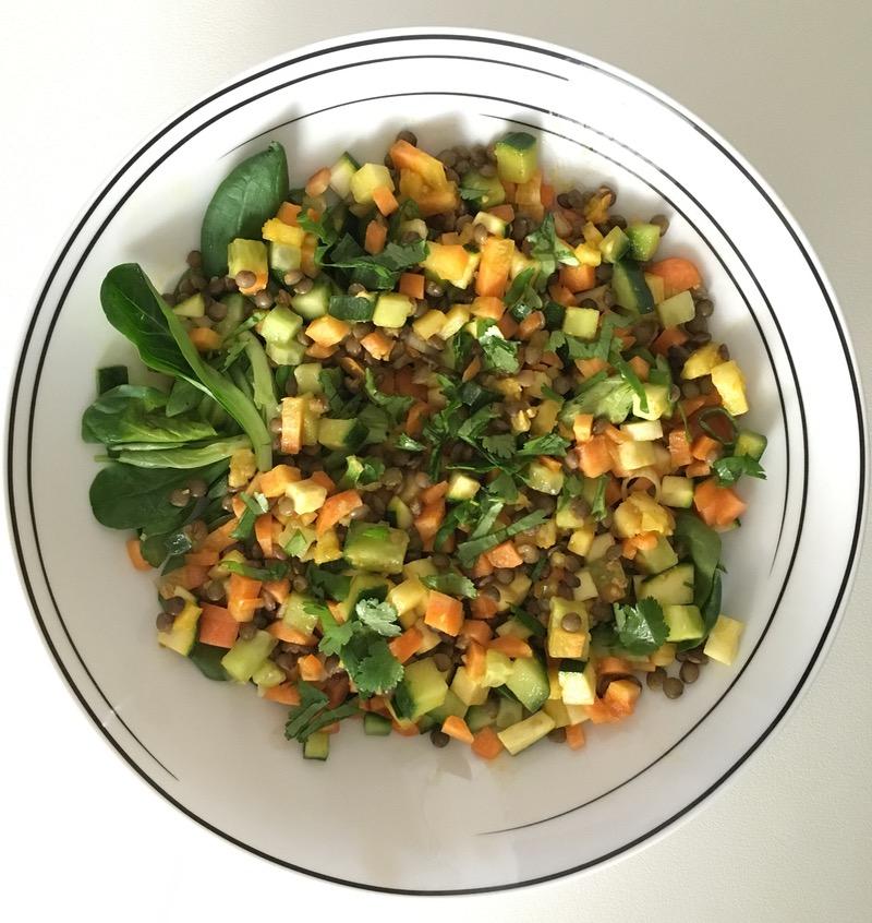 Clean organic food