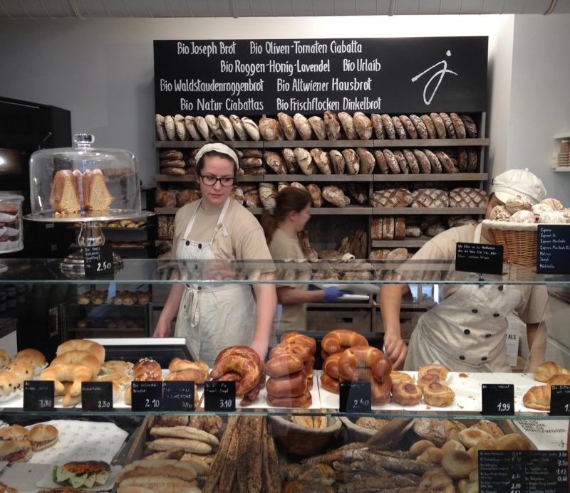 bio bread and pastries