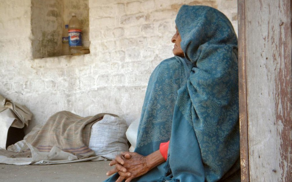 Woman in Nepal