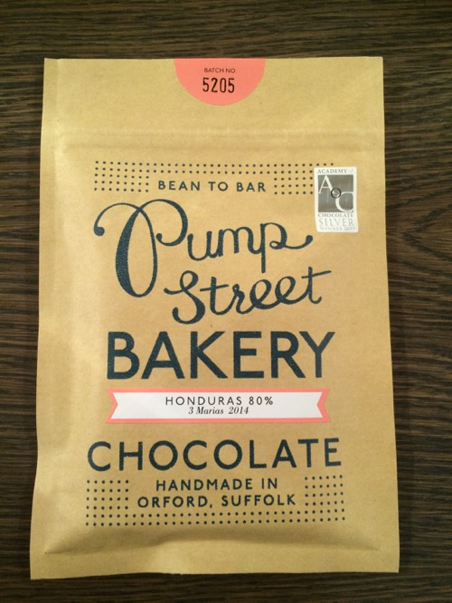 Chocolate made in Britain Pump Street Bakery