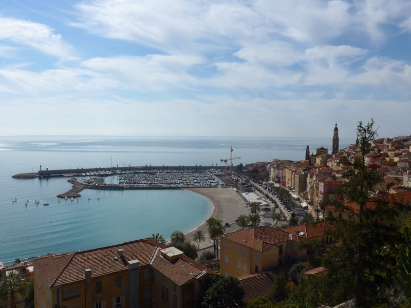 Menton and the Mediterranean