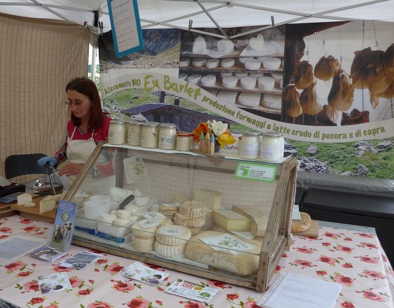 Goat and sheep cheese specialties