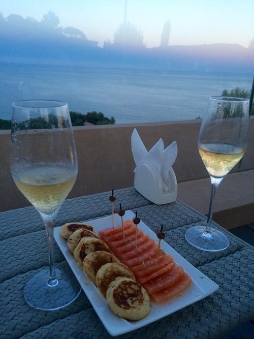 Champagne indulgence