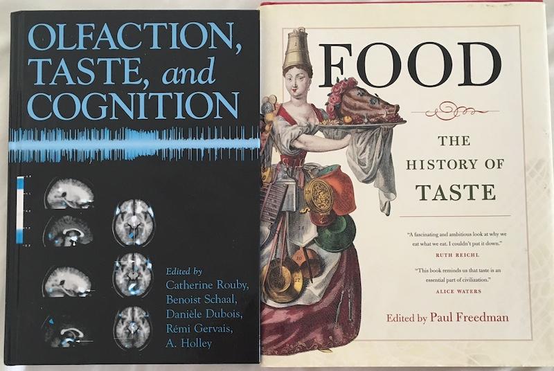 Food history and perception of taste