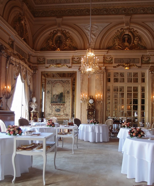 Alain Ducasse restaurant at Hotel de Paris