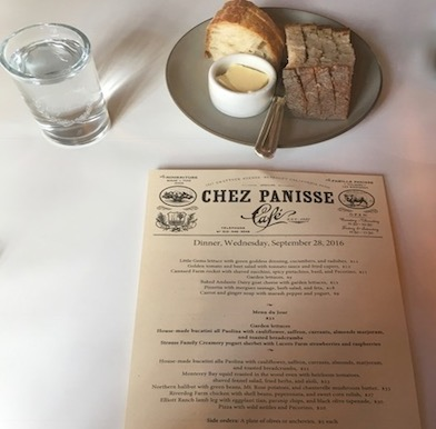 Chez Panisse: Berkeley farm to table movement mothered by chef Alice Waters