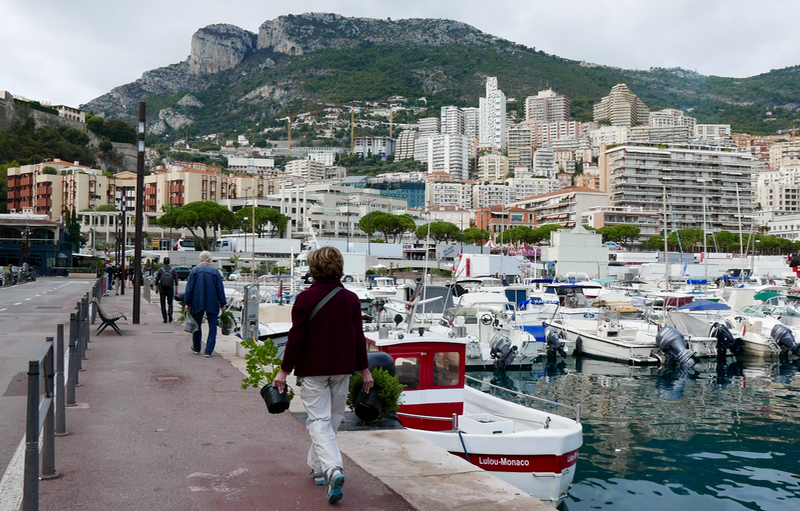 Route du Gout organic fair in Monaco
