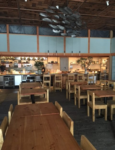 Perennial sustainable restaurant design in San Francisco