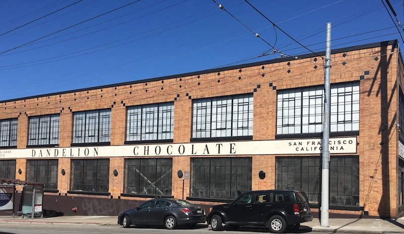 Dandelion chocolate manufactory