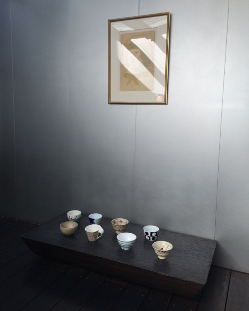 Japanese tea ceramics