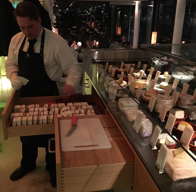 cheese bar at Meierei