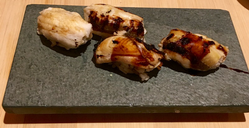 Sushi omakase at Yasuda in New York