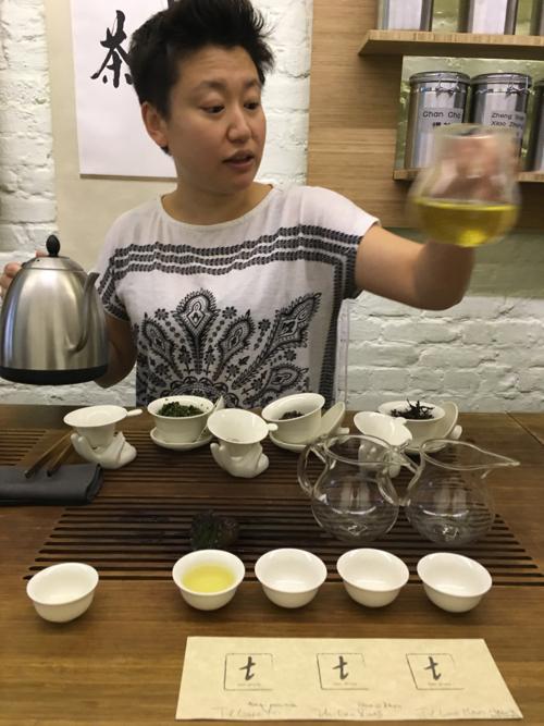 pouring tea at tea Drunk