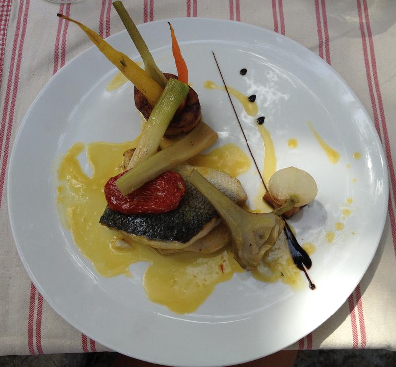 Cod fish provencal style