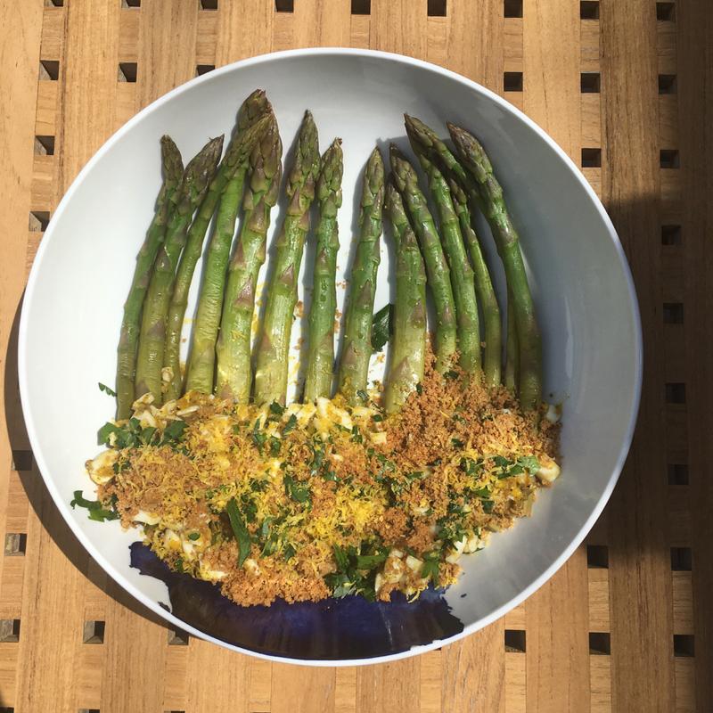 vegetarian asparagus recipe