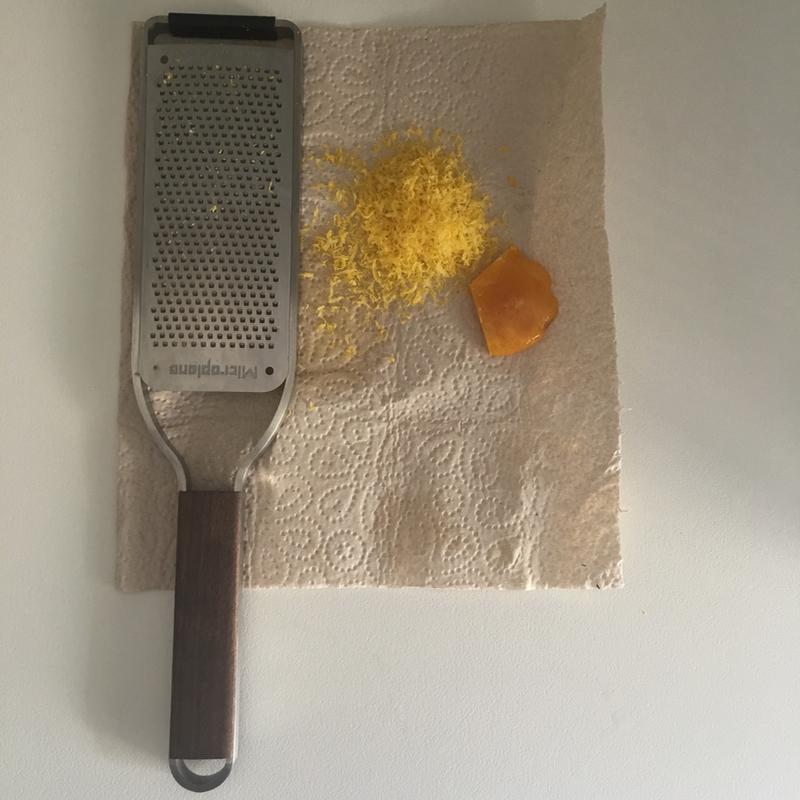 Cured egg yolk