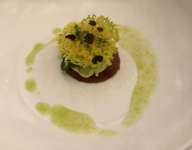 Michelin vegetarian dining