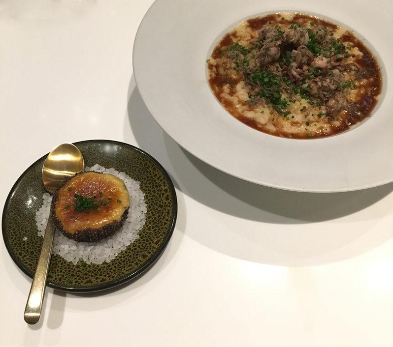 Spanish rice at Monvínic in Barcelon