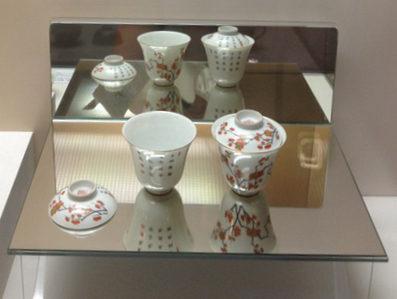 Chinese gaiwan porcelain tea cup