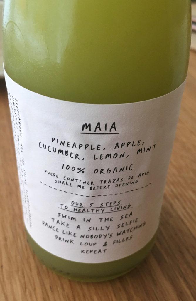 cold pressed organic juice