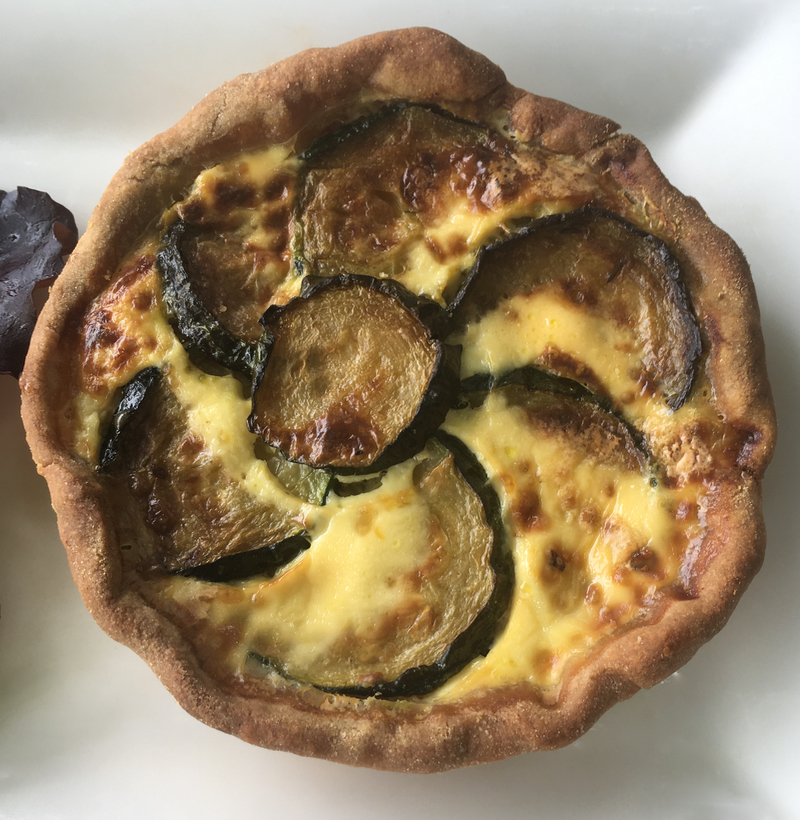 French quiche at Le Tilleul