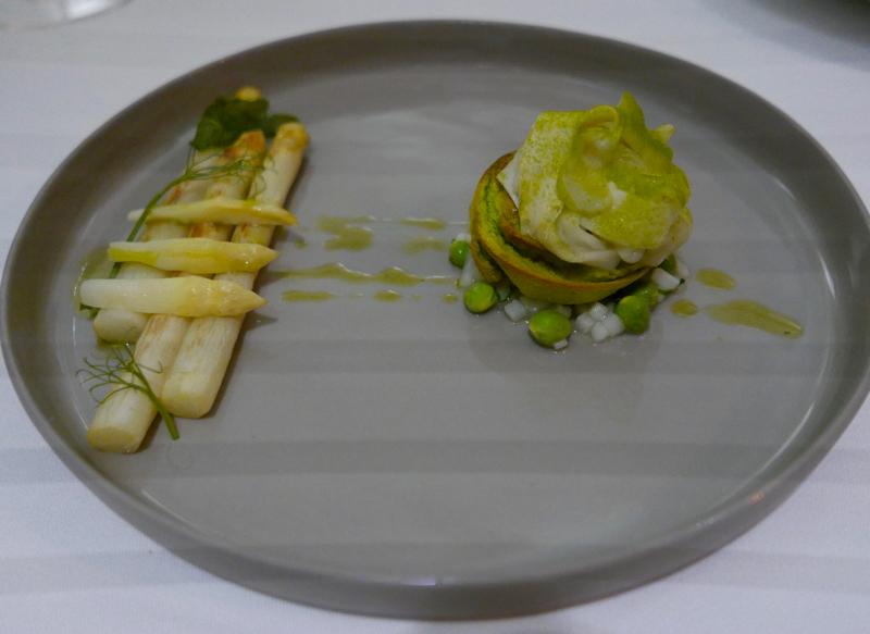 asparagus atat Tian vegetarian restaurant